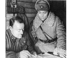 Действия героической группы генерала Захарова  на Дмитровской земле