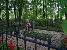 Ассаурово, Боевое захоронение