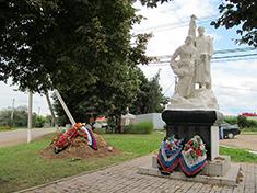Бунятино, Боевое захоронение