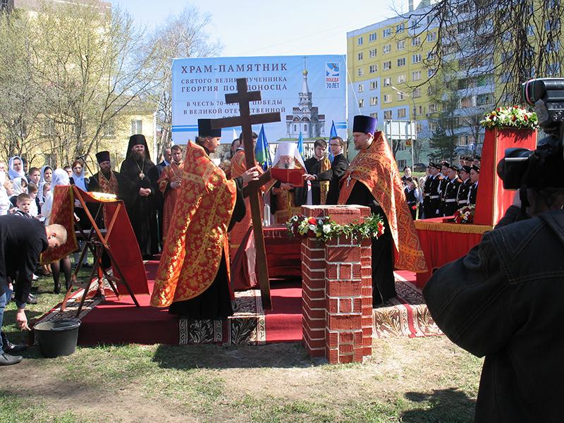 Дмитров, Часовня-памятник Георгия Победоносца