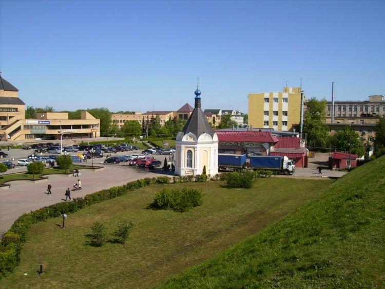 Дмитров, Часовня Александра Невского при Кафедральном соборе