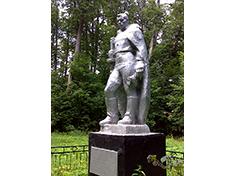 Храброво, Боевое захоронение и перезахоронение