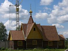 Икша, Церковь Матроны Московской