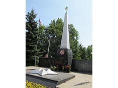 Яхрома, мемориал
