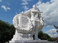 Яхрома, Боевое захоронение и перезахоронение