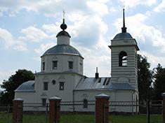 Новокарцево, Церковь Покрова Пресвятой Богородицы