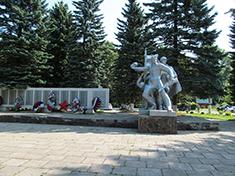 Новосиньково, мемориал