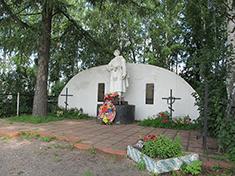 Подъячево, Боевое захоронение и перезахоронение
