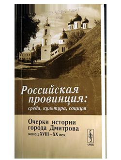 Российская провинция: среда, культура, социум