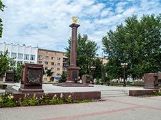 Дмитров, Стела Город воинской Славы