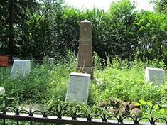 Степаново, Боевое захоронение и перезахоронение