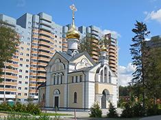 Некрасовский, Церковь иконы Божией Матери