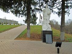 Каменка, Боевое захоронение и перезахоронение
