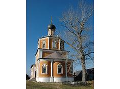Озерецкое, Церковь Николая Чудотворца