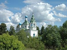Сысоево, Церковь Троицы Живоначальной