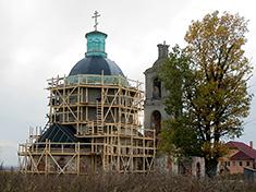 Ольявидово, Церковь Троицы Живоначальной