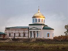 Минеево, Церковь Воскресения Словущего