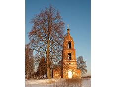 Карпово, Церковь Воскресения Словущего