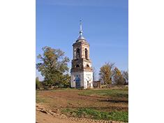 Говейново, Колокольня церкви Рождества Пресвятой Богородицы