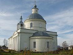 Подмошье, Церковь Николая Чудотворца